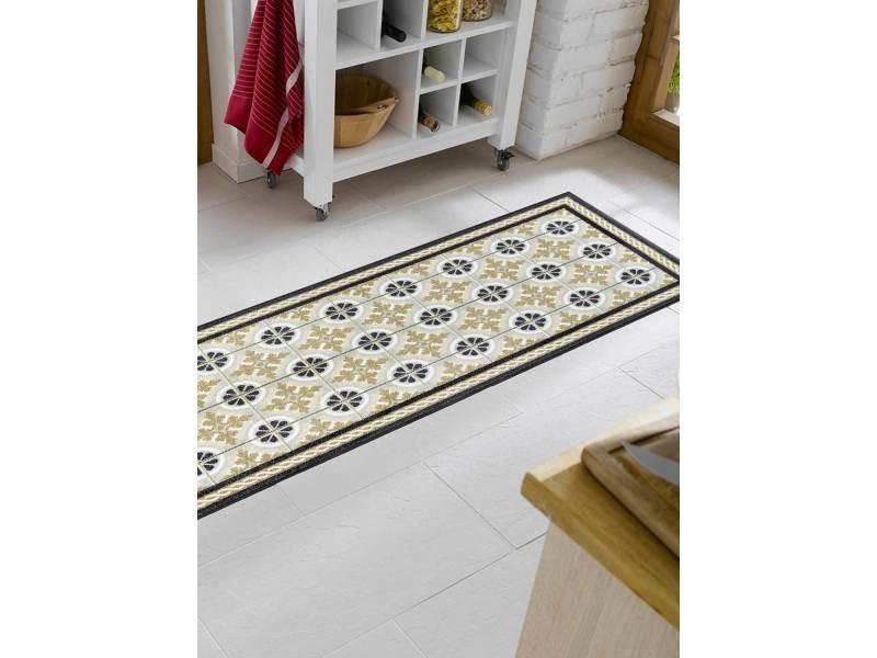 https www conforama fr decoration textile tapis tapis salon et chambre cuisinal toule kt beige 75 x 190 cm tapis cuisine par unamourdetapis p o66415559