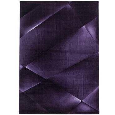reflet tapis a motifs geometrique violet 80 x 250 cm m64294513