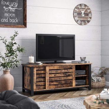 meuble tv buffet bas 110 x 40 x 45 cm
