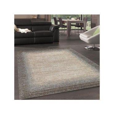 tapis chic et simple pour la chambre unilegant gris fonce beige 60 x 110 cm t71063152