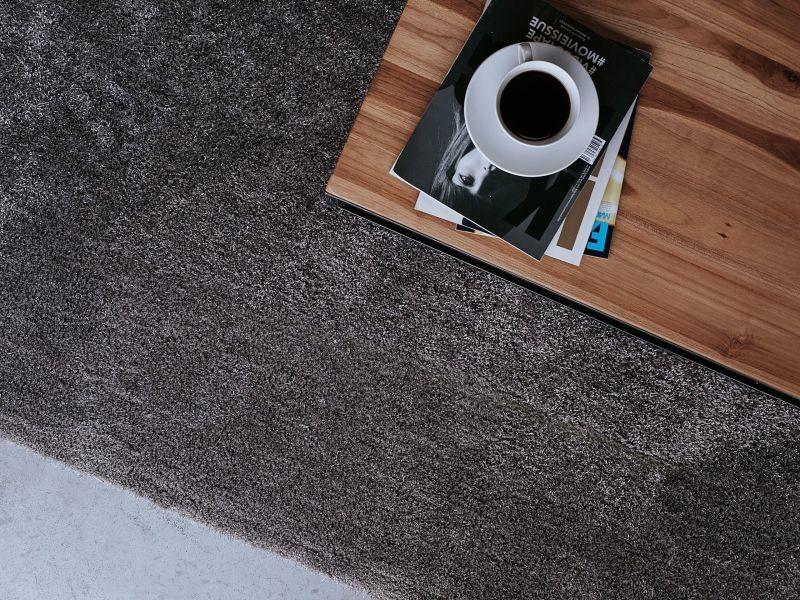 tapis gris fonce 160 x 230 cm demre 67568