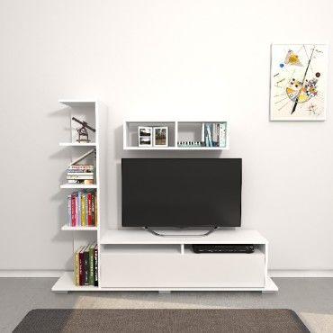 homemania meuble tv argo avec
