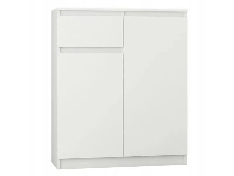 moscow buffet moderne salle a manger 98x80x40 cm commode contemporaine chambre salon bureau meuble de rangement blanc