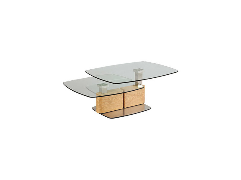 table basse en verre trempe