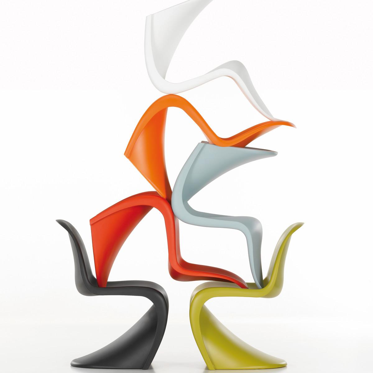 Panton Chair von Vitra im Wohndesign-Shop