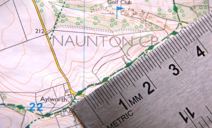How to Measure Distance on a Map Easily   Cool of the Wild How to measure distance on a map with a ruler