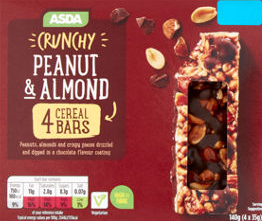 Product recall Peanut & Almond Cereal Bars