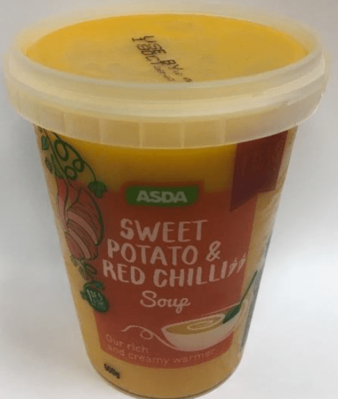 Image result for Asda Sweet Potato and Red Chilli Soup