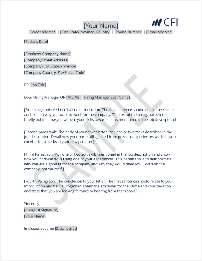 Cover Letter How To Write A Cover Letter Template And Examples