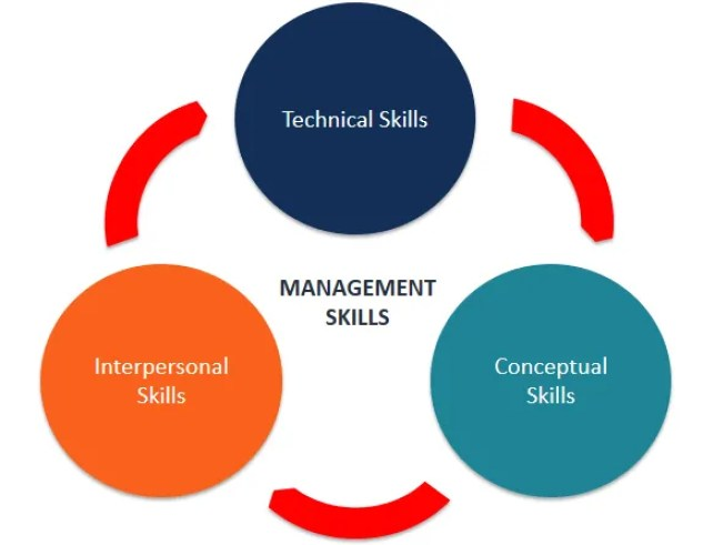 Types of Management Skills (diagram)