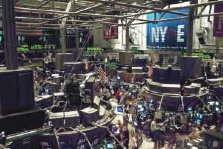 Stock Market - the floor on the NYSE