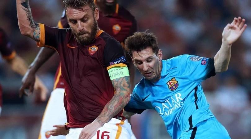 Barcellona-Roma, Mediaset trasmetterà la partita su Canale 5
