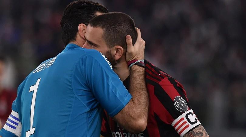 Milan, Bonucci : «Champions alla Juventus? Sarebbe stato un duro colpo»