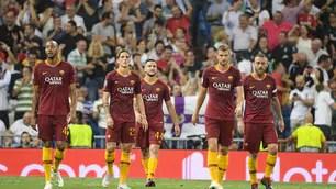 Troppo Real Madrid per la Roma: i giallorossi ko al Bernabeu
