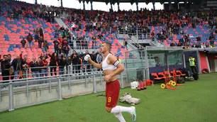 Rome, Dzeko decisive at 94 ': Bologna ko 2-1