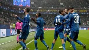 Lokomotiv Moscow-Juventus 1-2: Douglas Costa's 93rd show