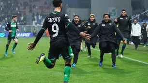 Sassuolo, the night of Caputo: double in the 3-1 at Bologna