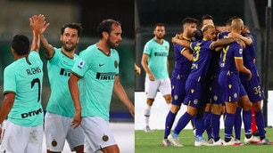 Candreva deceives Inter, Veloso gives Verona the same