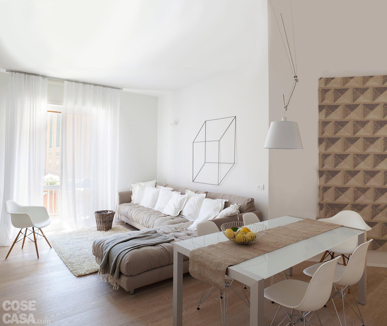Gli arredamenti moderni proposti da la casa moderna per realizzare la tua idea di casa. 75 Mq 10 Idee Per Far Sembrare Piu Grande La Casa Cose Di Casa