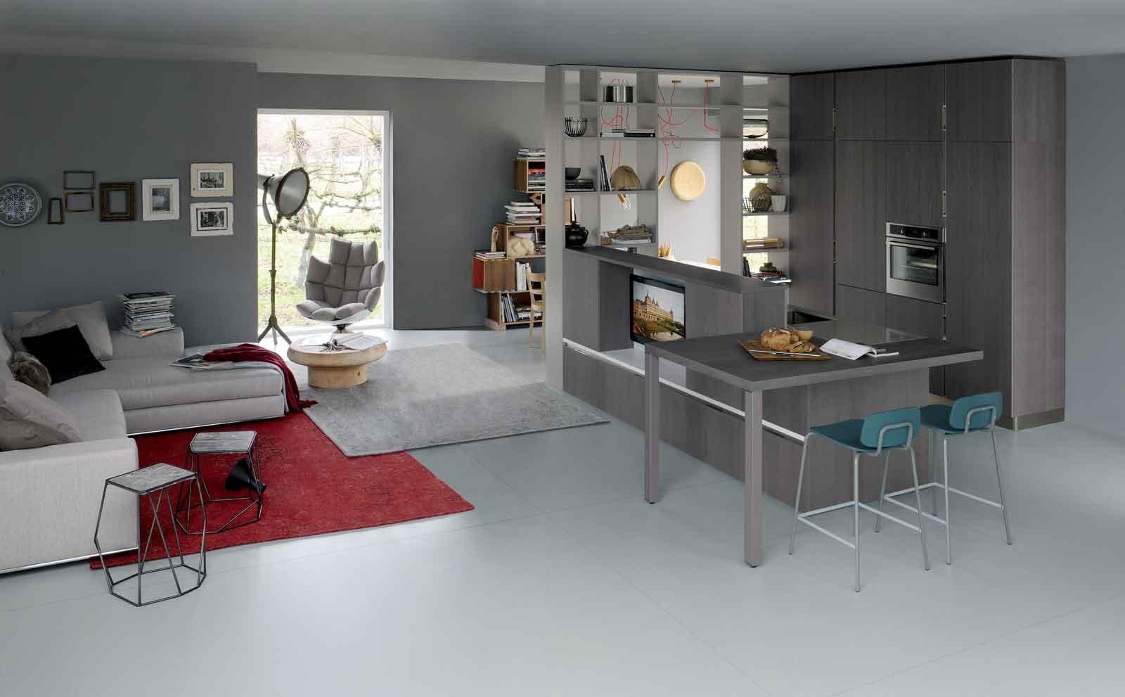 Sempre più spesso nel corso degli anni si è passati ad un tipo di progettazione che prevede la cucina a vista nella zona giorno; Cucina E Soggiorno In Un Unico Ambiente 3 Stili Cose Di Casa