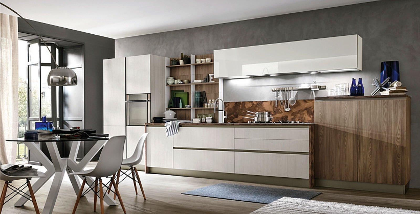 Diverse sono le idee che consentono di impiegare il cartongesso per lavori in cucina, trattandosi di un materiale di semplice lavorabilità e. Separare La Cucina 9 Soluzioni Da Copiare Cose Di Casa