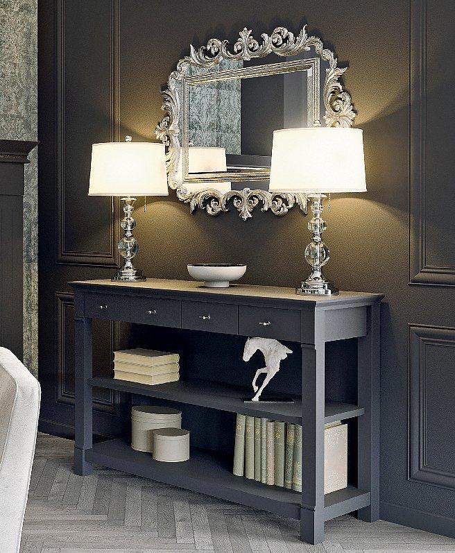 Le funzioni dei mobili per ingresso moderni. Arredamento Classico Chic Rivisitato Cose Di Casa