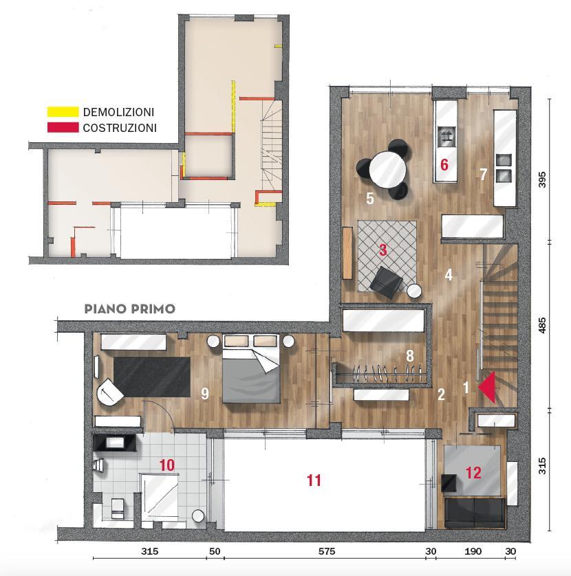 Progetto ville moderne singole piano terra trovit. Casa Su Due Livelli 115 Mq Minimal E Contemporanei Cose Di Casa