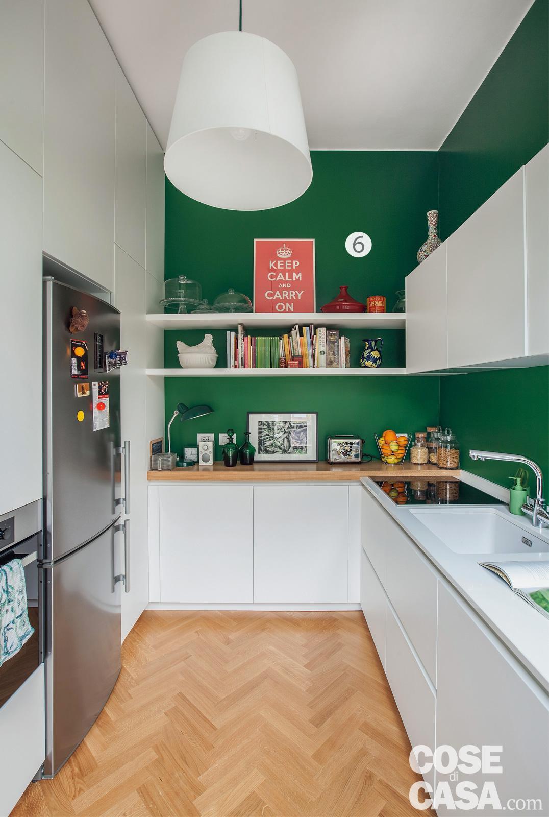 Dipingere le pareti con le strisce può sortire due effetti diversi in base. 113 Mq A Colori Un Grande Bilocale Con Annesso Monolocale Indipendente Cose Di Casa