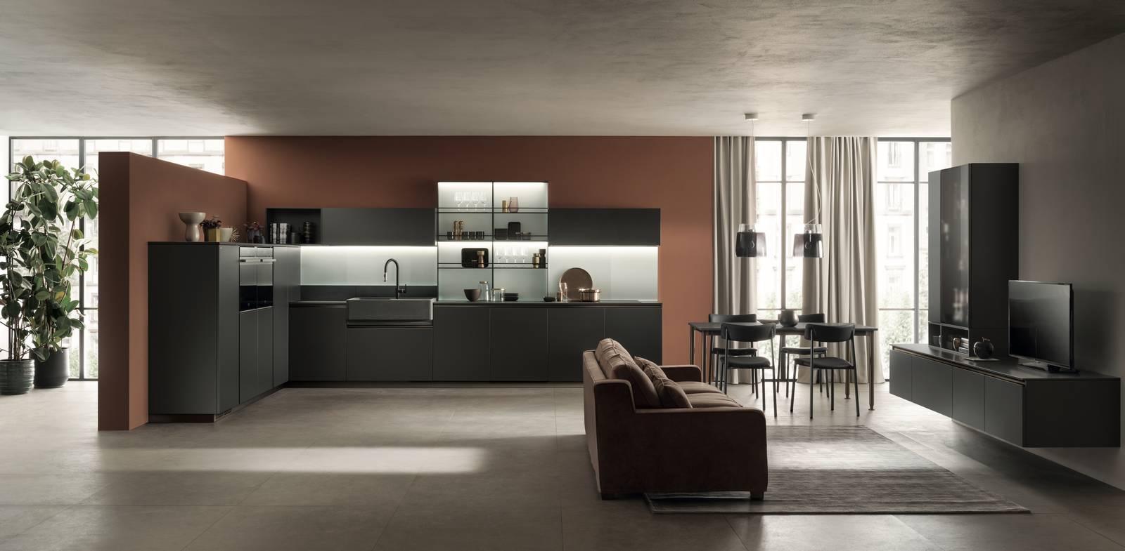 Come creare un confine tra i due ambienti: Cucine A L A Vista Sul Soggiorno O Separate Cose Di Casa