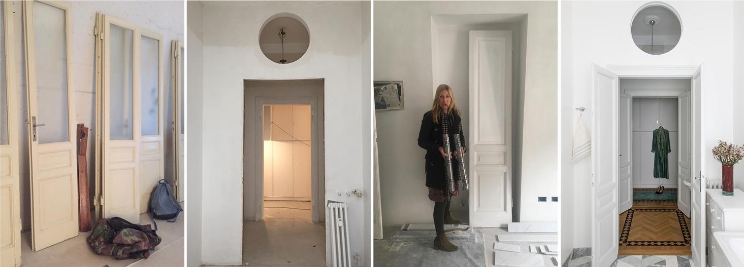 Stanza da letto, mobili, arredamento d'interni, case, forma. Come Recuperare Le Vecchie Porte Restauro Restyling Cose Di Casa