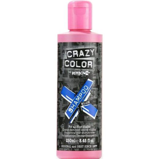 Crazy Colours Vibrant Shampoo Blue