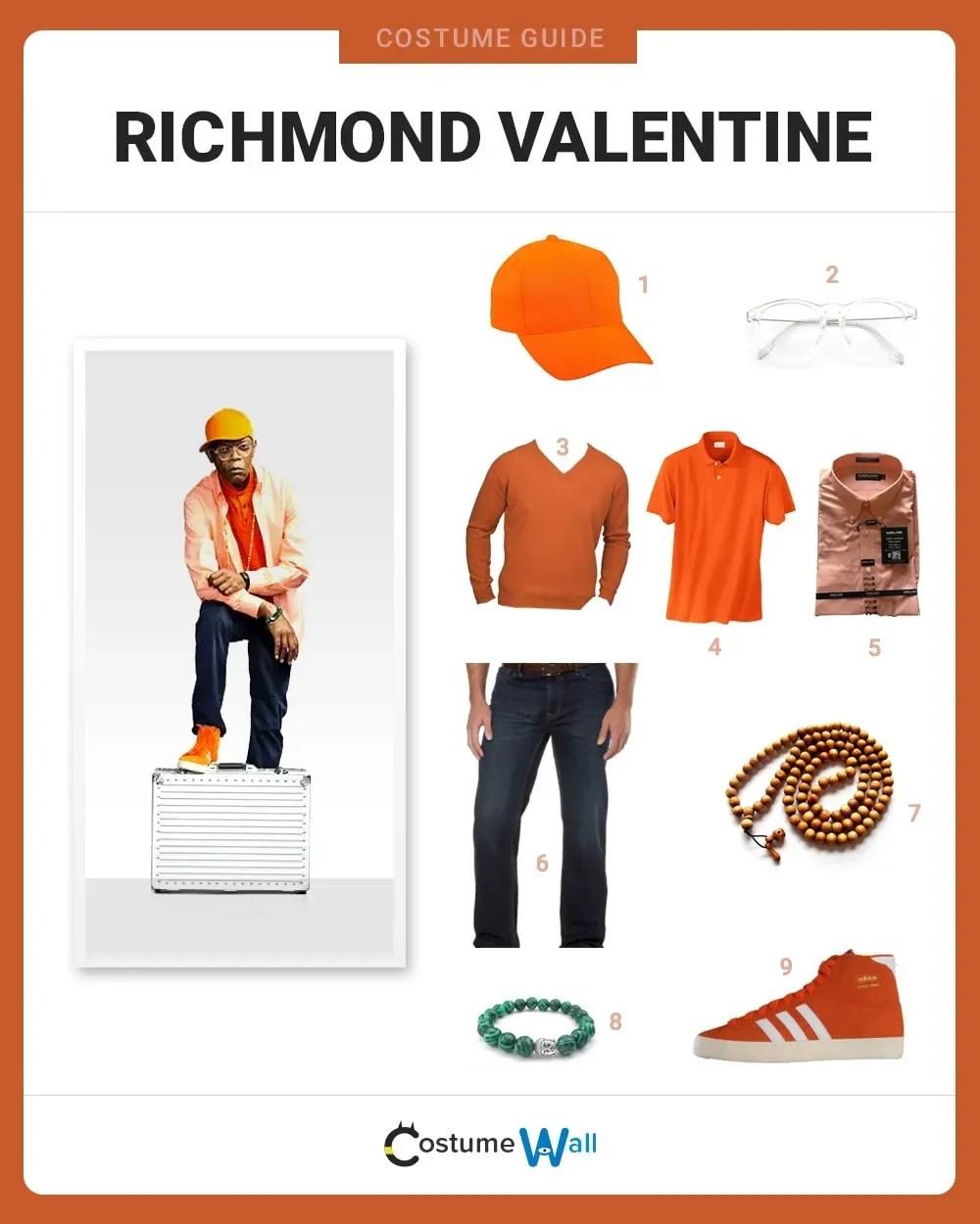 Dress Like Richmond Valentine Costume Halloween And