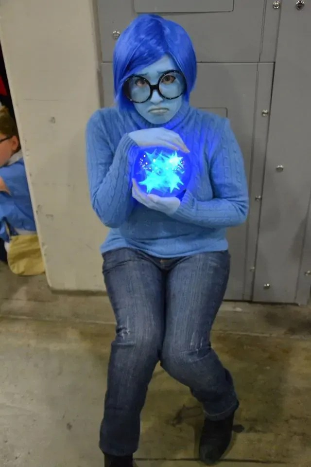 Dress Like Sadness Costume Halloween And Cosplay Guides