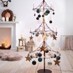 Alternative Zum Weihnachtsbaum Hirschgeweih Kamin