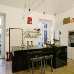 Schwarze Kucheninsel Bilder Ideen Couch