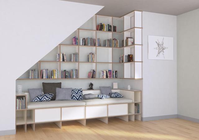 Regal Dachschräge   55 Ideen Für Indirekte Beleuchtung An ...