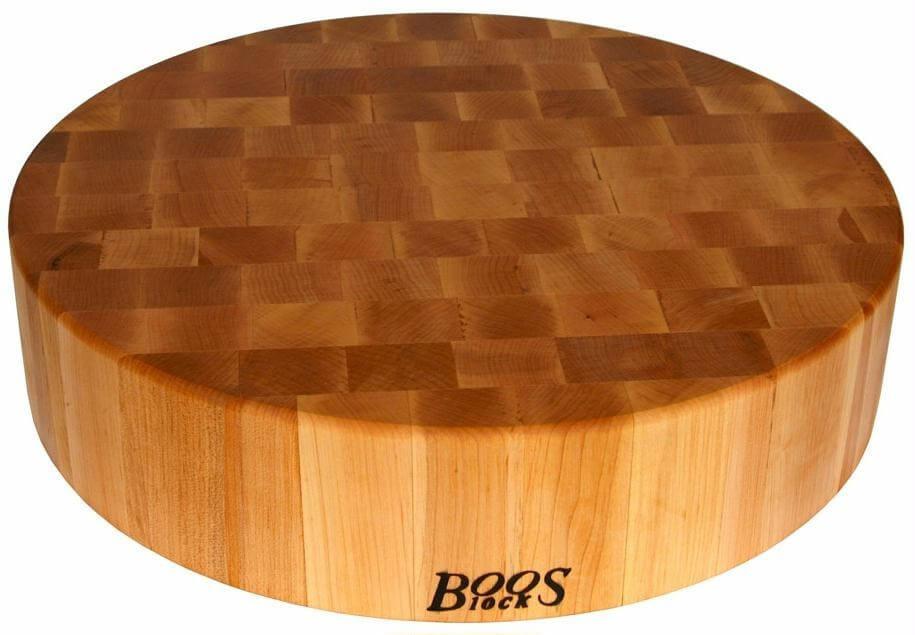 planche a decouper ronde et epaisse boos blocks gourmet bois d erable