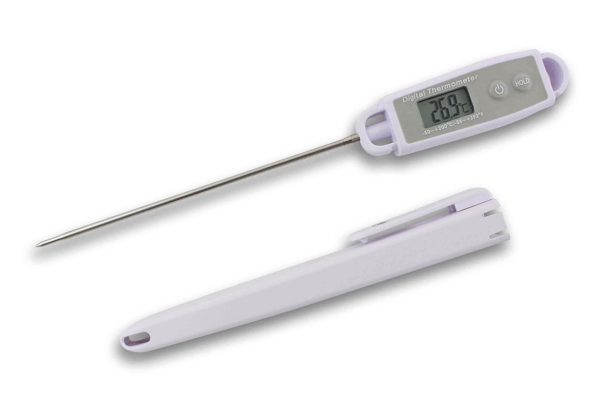 thermometre sonde digital etanche 50 200 c alla france