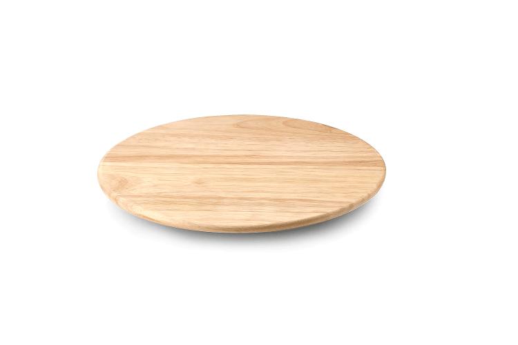 plateau a fromage rotatif continenta en bois d hevea