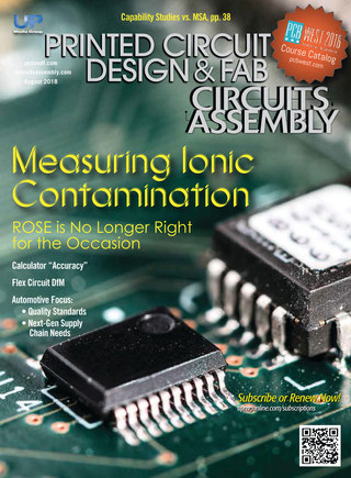 Printed Circuit Design & Fab - August 2018