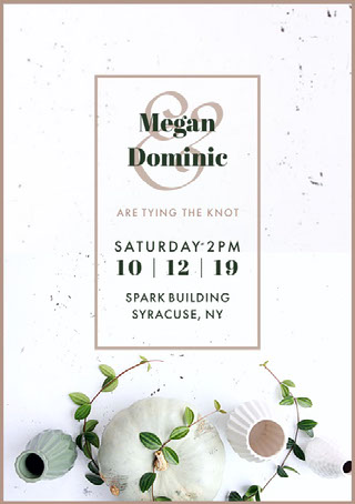 Online Wedding Invitation Maker Create Your Own Wedding Invitations For Free Adobe Spark