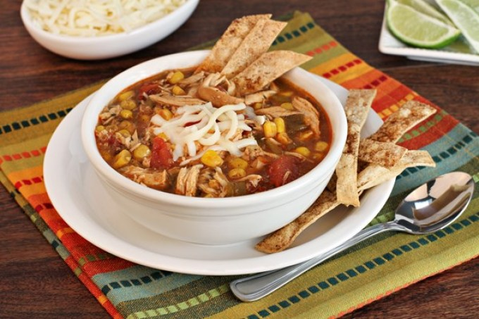 Easy Chicken Tortilla Soup - Weight Watchers