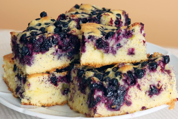 Melt In Your Mouth Blueberry Cake Kitchme