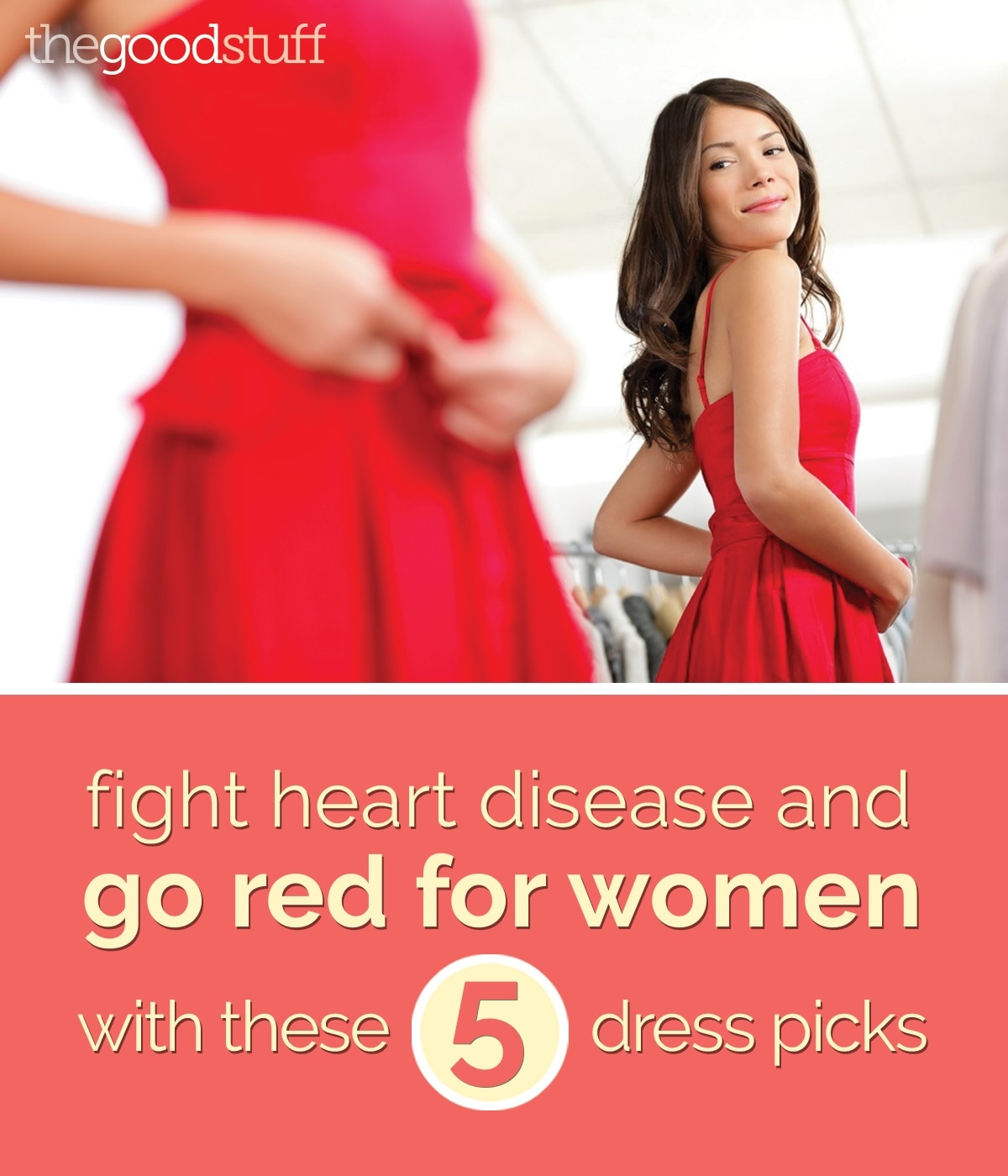 Fight Heart Disease And Go Red For Women With These 5