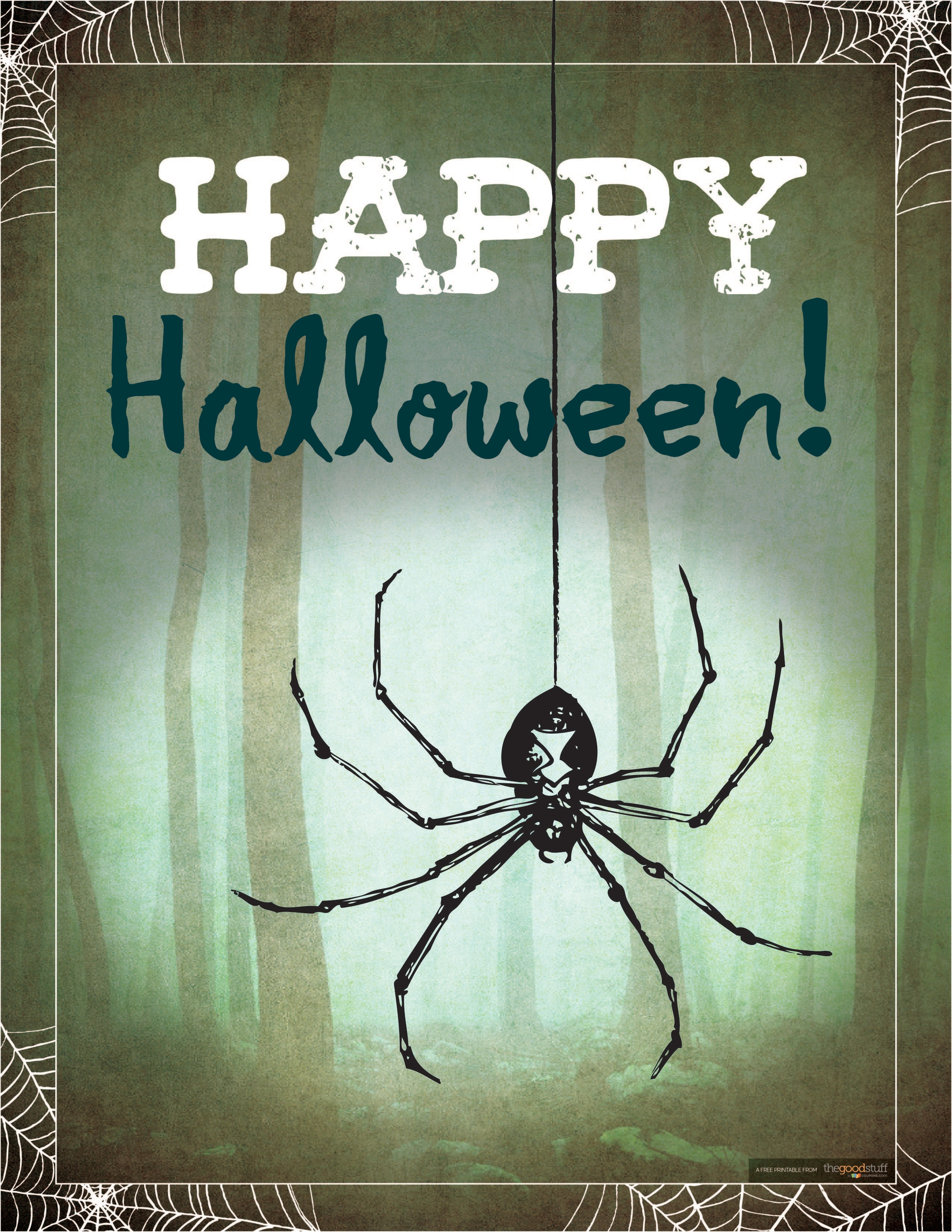 6 Free Halloween Printables For Your Halloween Party