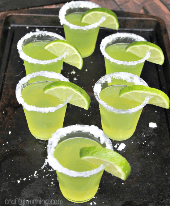Image result for Tequila Lime Jello Shots
