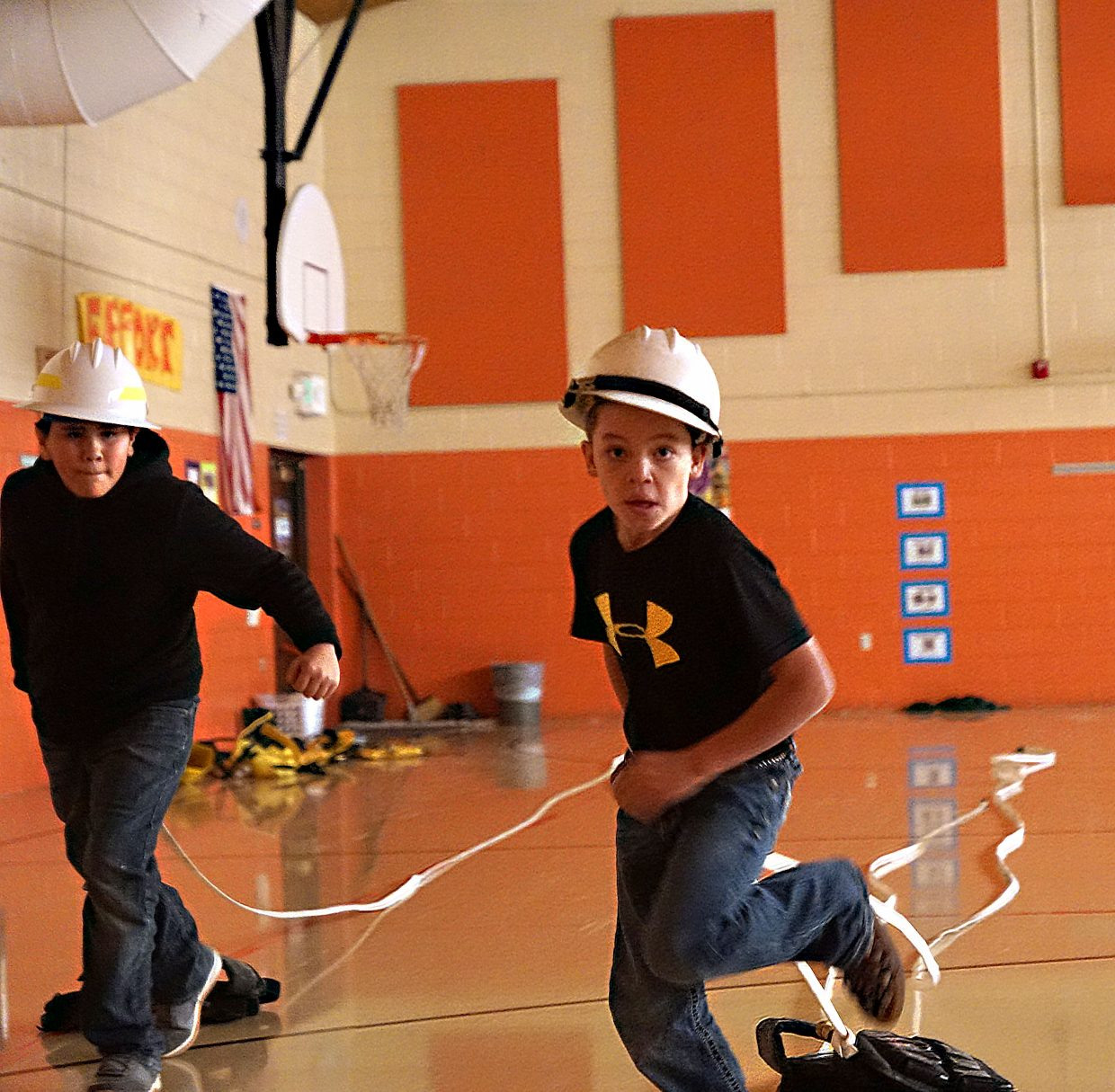 Sunset Elementary School Students Learn Fire Safety During