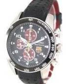 Seiko Sportura Chronograph F C Barcelona SNAE75P1 SNAE75P Mens Watch