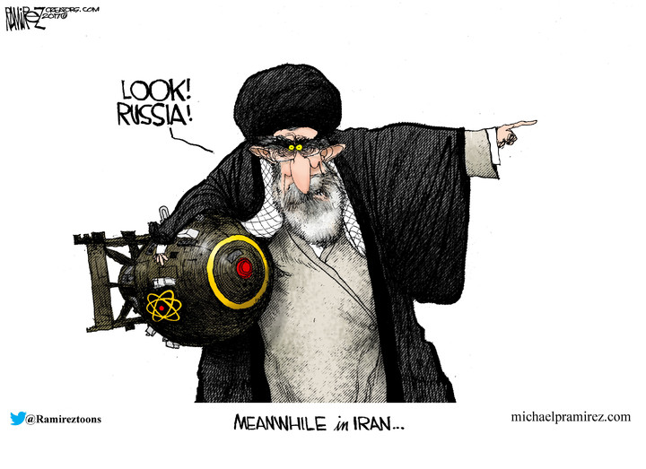 Michael Ramirez for Jul 23, 2017