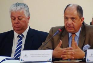 """El presidente Luis Guillermo Solís pidió que se pase la página y avance del """"caso Soley"""". (CRH)"""